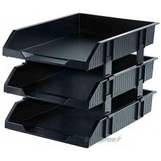 Module de rangement Classeur Support du fichier fichier durable Plateau de bureau Support de stockage des dossiers Rack forte résistance Collision des besoins organisationnels en plastique