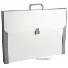 Aristo Mallette Studio Case A3 en plastique Beige gris Import Allemagne